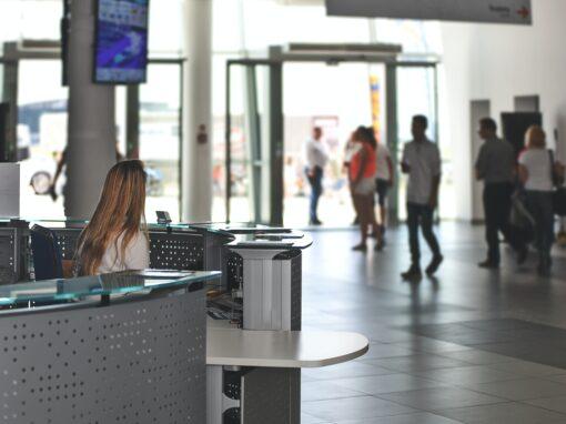 Videoüberwachung und Zutrittskontrolle für ein Geschäftshaus in Darmstadt
