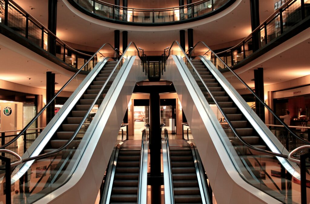 Sicherheitslösungen für ein Einkaufszentrum in Hanau