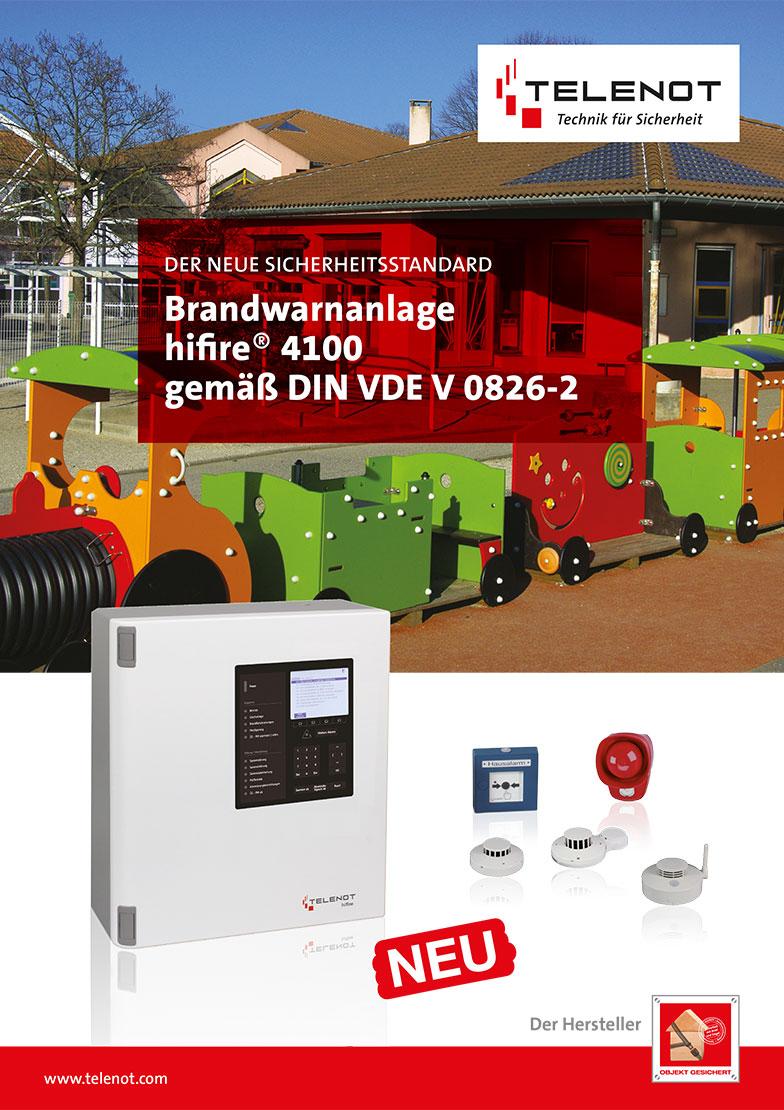 Brandwarnanlage hifire® 4100