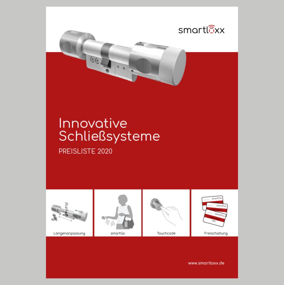 Smartloxx – Preisliste 2020